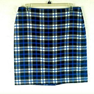 Talbots Women's Laine Blend Skirt Sz 16